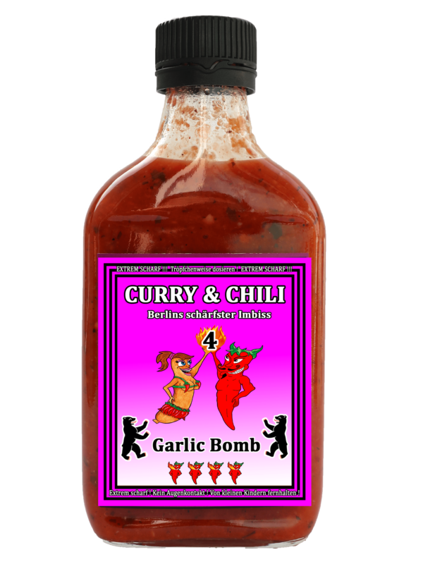 CURRY & CHILI GARLIC BOMB