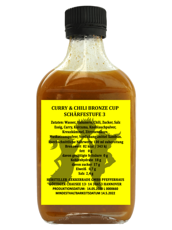 CURRY & CHILI BRONZE CUP